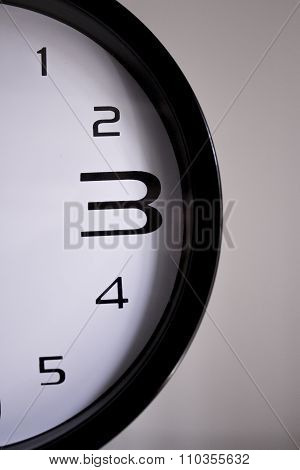 Clock Numbers 1 2 3 4 5