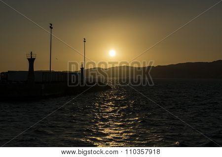 Sunset in Vigo