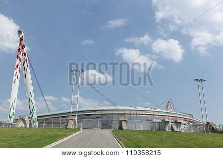 Juventus stadium in Torino, Italy
