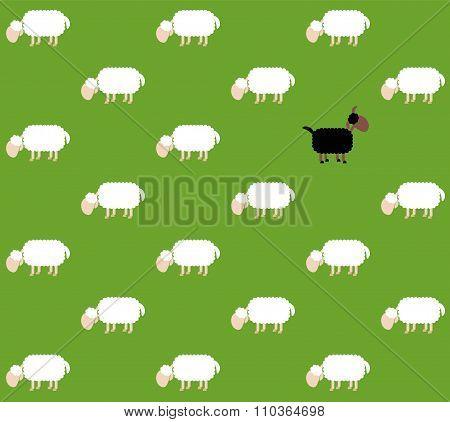 Black Sheep Pasture Comic