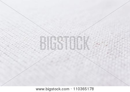 Abstract Knitted Background. Wool White Sweater Texture. Diagonal Close Up Picture