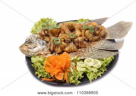 Fired Fish With Fishsauce
