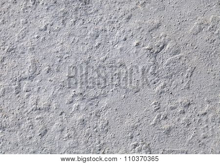 Wall plaster, close-up