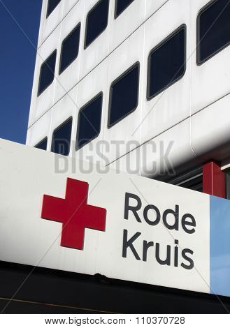 Red Cross Building In The Hague, Netherlands