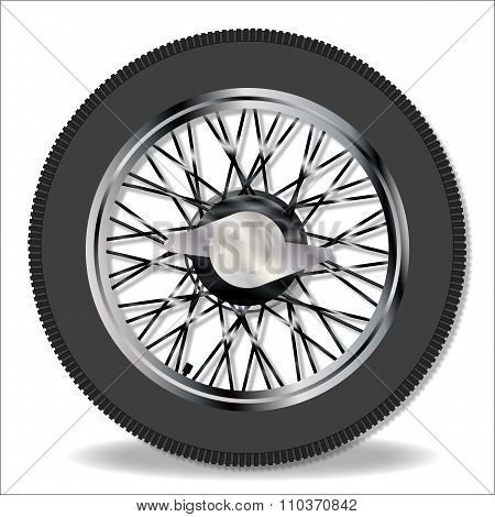 Knock On Wire Wheel