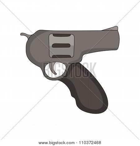 hand drawn revolver