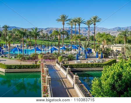 Pools at the JW Marriott Desert Springs