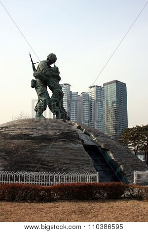 War Memorial. Seoul. South Korea.