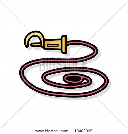 Pet Collar Rope Doodle