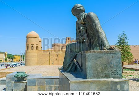 The Monument In Khiva