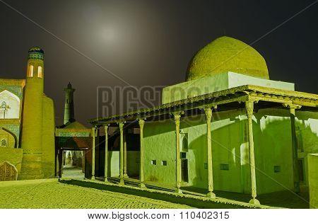 The Mosque In Moonlight