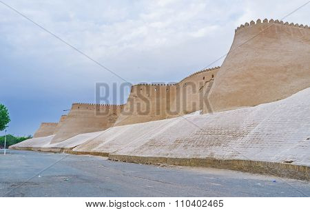 The Old Walls Of Khiva