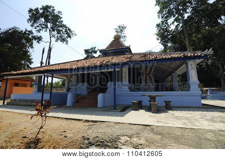 Masjid Machap Lama or Machap Old Mosque in Malacca