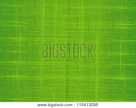 Weaving Of Lines In Green Tone