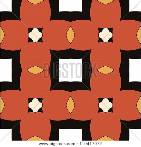 Children abstract ethnic pattern with bright
