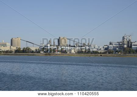 Chemical Industry On The Port