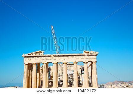 Statue Acropolis Athens   Place   Historical    Architecture