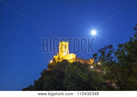 Tower On Cliff.
