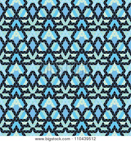 Tribal multicolored pattern.