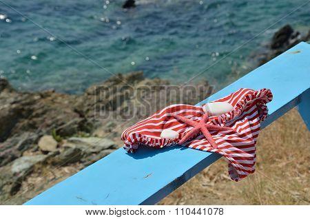 Bikini And Sea