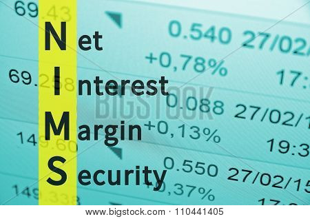 Net interest margin security