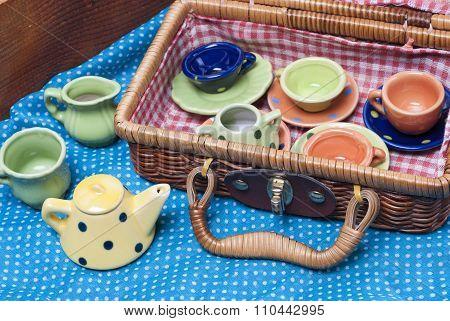 Colored Porcelain