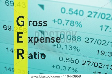 Gross Expense Ratio