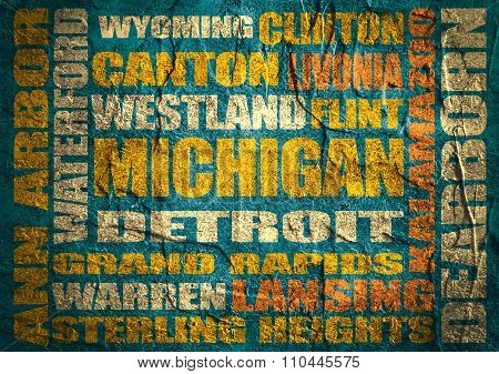 Michigan state cities list