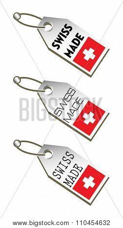 Swiss made tags