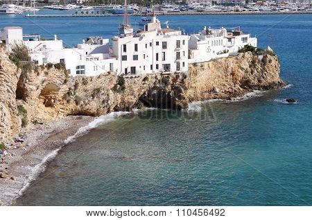 Sa Penya District in Ibiza