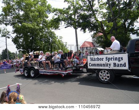 Community Band at 4th of July Parade