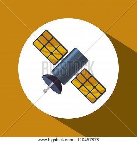 satellite over circle design