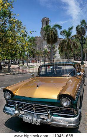 American car in Havana