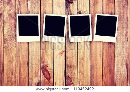 Instant Blank Photo Frames.