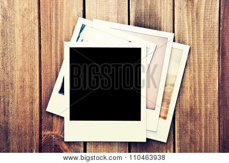 Instant Blank Photo Frame.