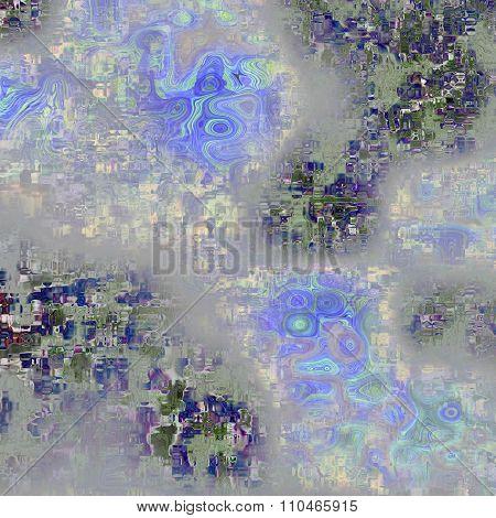 Translucent Glass Tiles With Landscape