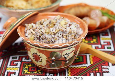 ukrainian kutia dish