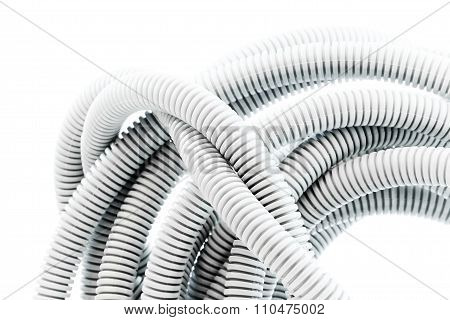 Corrugated pipe for electrical installations