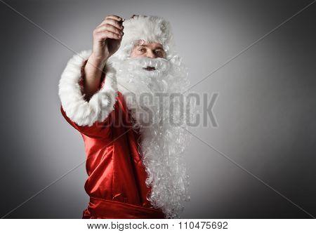 Santa Claus Is Writing