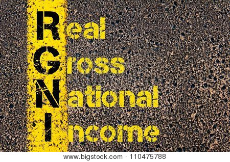 Accounting Business Acronym Rgni Real Gross National Income
