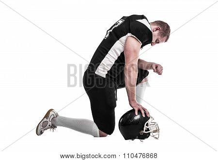 American football player.