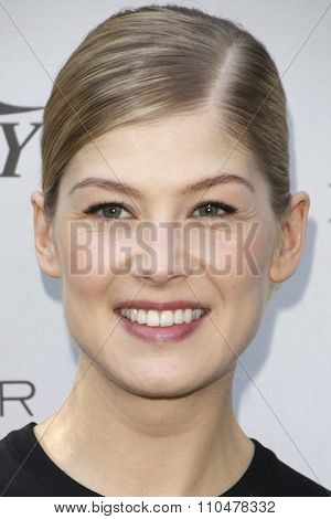 LOS ANGELES - JAN 4:  Rosamund Pike at the Variety's Creative Impact Awards and '10 Directors To Watch' Brunch at the Park Palm Springs on January 4, 2015in Palm Springs, CA