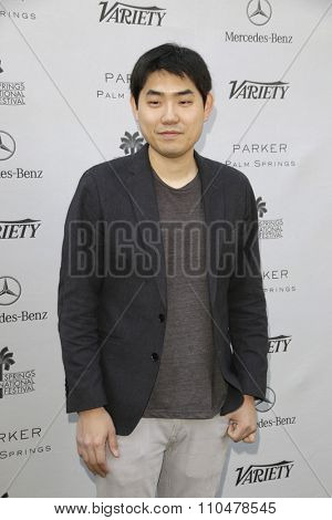 LOS ANGELES - JAN 4:  Albert Shin at the Variety's Creative Impact Awards and '10 Directors To Watch' Brunch at the Park Palm Springs on January 4, 2015in Palm Springs, CA