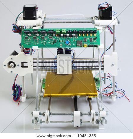 Assembling Open Source 3D Printer