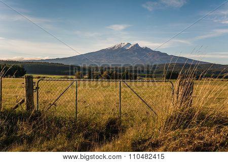 Mount Doom In The Sun