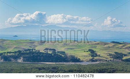 View From Rangitoto Island In New Zealand