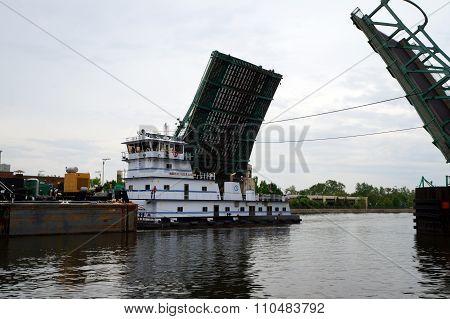 Towboat Elizabeth M. Robinson