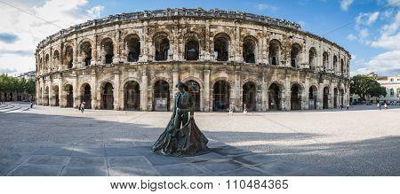 Roman Arena In Arles, France