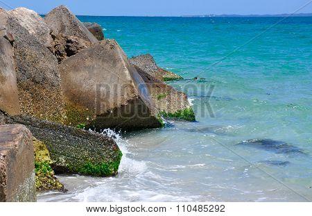Ecology Blocks: Indian Ocean Breakwater