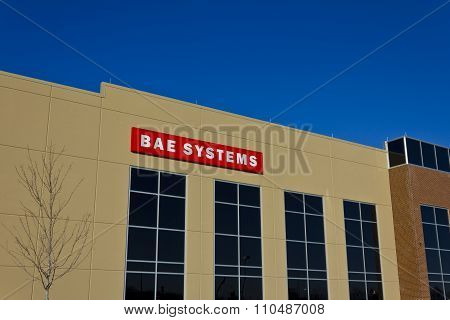 Ft. Wayne, In - Circa December 2015: BAE Systems Manufacturing Facility.